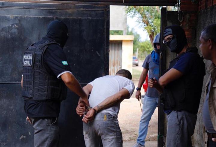 Operação da Depre prende 4 suspeitos de tráfico em Teresina