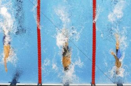 Falha pode ter ajudado nadadores durante Olimpíadas