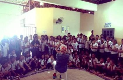 IV Mostra Sesc de Teatro leva apresentação à escola...