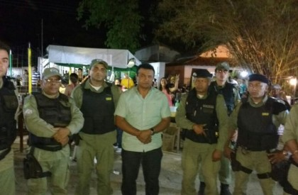Barras recebe reforço de mais 7 policiais militares