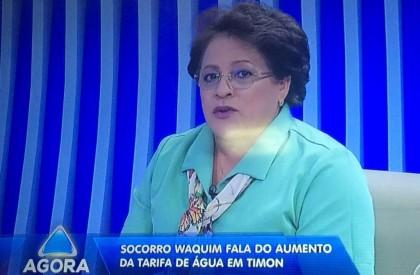 Socorro pretende rever contrato com Águas de Timon