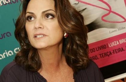 Luiza Brunet afirma ter sido agredida pelo companheiro