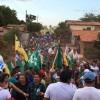 Jademil reforça campanha com grandes caminhadas em Coelho Neto
