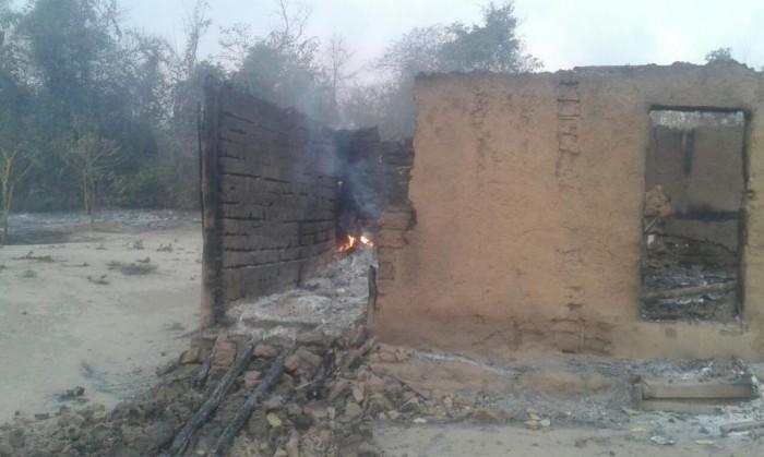 Fogo destrói casas de povoados em Caxias-MA