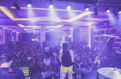 Banda Top Gun faz show no Artes de Março