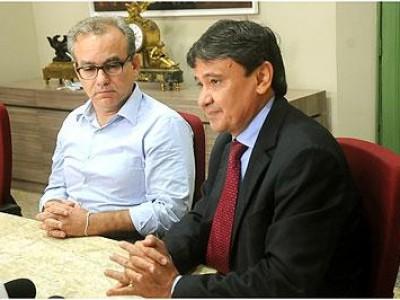 Governador Wellington Dias garante retomar obras paradas