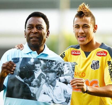 Pelé considera impossível Neymar se tornar novo Rei do Futebol