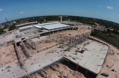 Obras do Caxias Shopping Center estão em ritmo acelerado