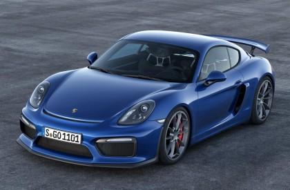 Quatro unidades do Porsche Cayman GT4 já se encontra...
