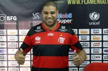 Flamengo tem até sexta para pagar R$ 920 mil a Adriano