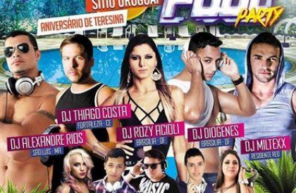 Festa Vip: Red Club promove Pool Party neste fim...