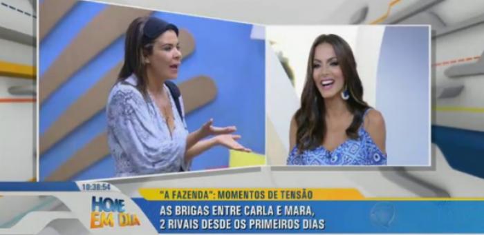 Eliminada contra Mara, Carla Prata ataca a rival e diz que desejava paz