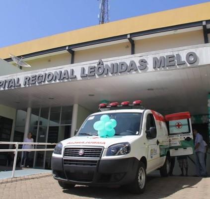 Hospital de Barras recebe nova ambulância do...