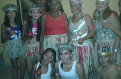 Descendentes de indígenas participam de festas juninas