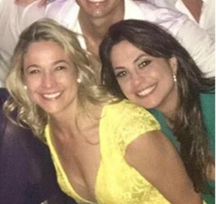 Fernanda Gentil assume namoro com uma jornalista