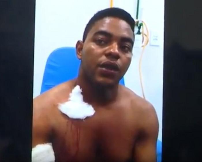 Homem leva tiro no ombro em bar no bairro Baixinha