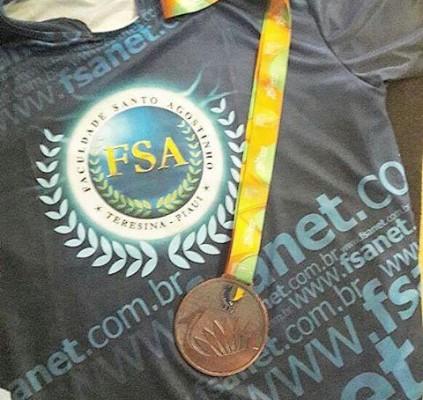 Piauiense Francinaldo Segundo é medalha de bronze...