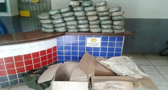 Polícia apreende mais de 50Kg de drogas que iriam para Codó