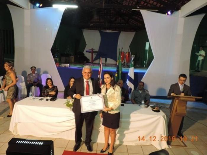 Américo de Sousa (PT) é diplomado prefeito de Coelho Neto