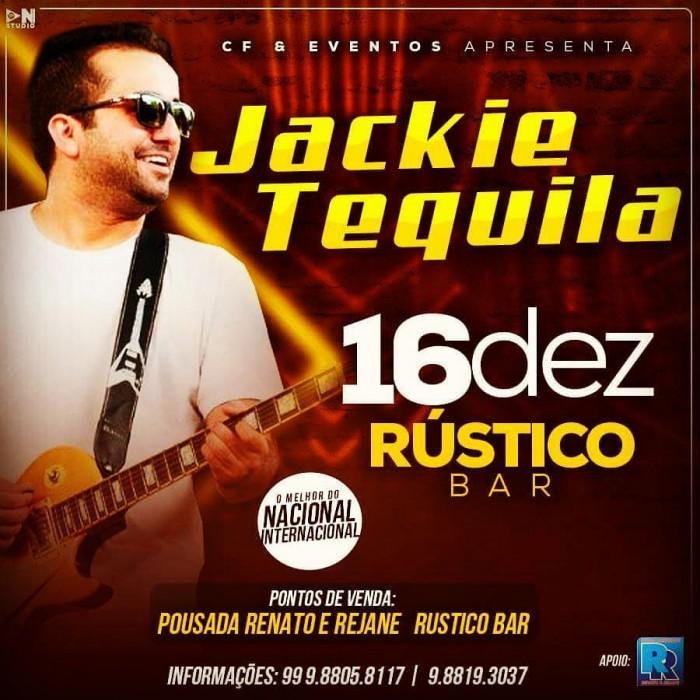 Banda Jackie Tequila é atração do Rústico Bar nesta sexta (16)