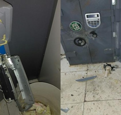Bando explode caixa do Bradesco em Dom...