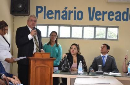 Ferdinando Coutinho é diplomado prefeito de Matões