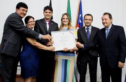 Francisco Nagib é diplomado como prefeito de Codó