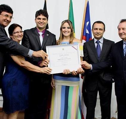 Francisco Nagib é diplomado como prefeito de...