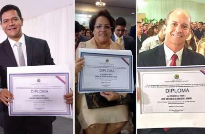 Justiça diploma prefeito, vice, vereadores e suplentes em Timon
