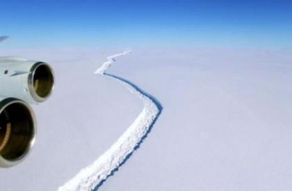 Iceberg gigante pode se desprender da Antártida a qualquer...