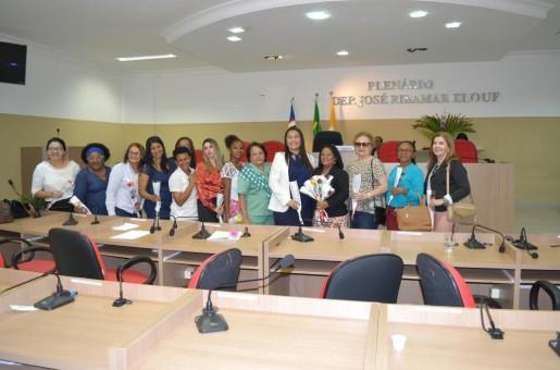 Câmara de Timon tem sessão sobre a conquista do voto feminino