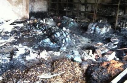 Incêndio destrói supermercado no centro de Barras