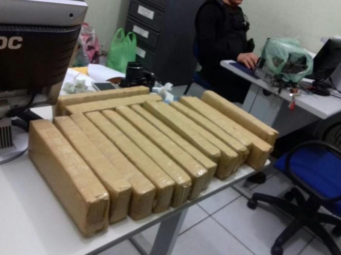 Operação Mercador: Polícia prende 9 pessoas e apreende 18 kg de maconha