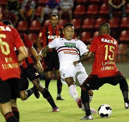 River empata com Sport no Recife pela...
