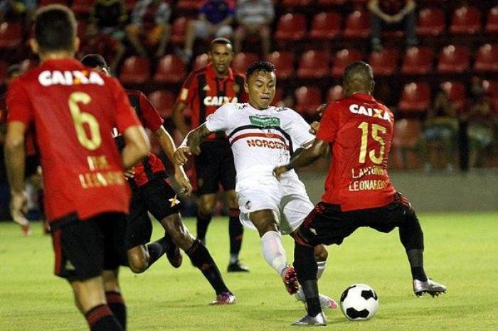 River empata com Sport no Recife pela Copa do Nordeste
