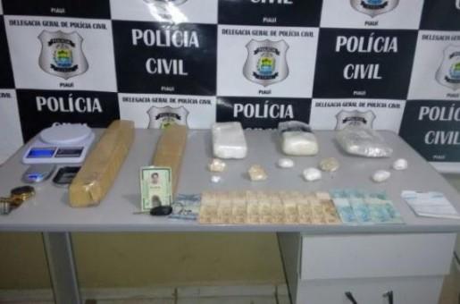Acusado de abastecer 'bocas de fumo' de Oeiras é preso