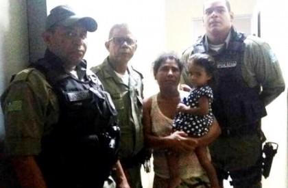 Criança de 2 anos sequestrada em Picos é encontrada...