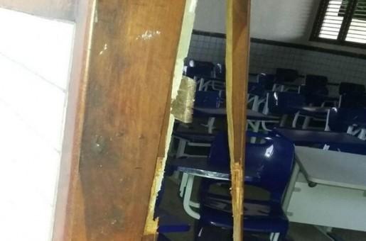 Ladrões invadem e fazem 'arrastão' em escola de Timon