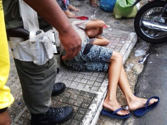 Menor é apreendido após furto no centro de Parnaíba