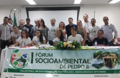 palestras marcam o segundo dia do Fórum Socioambiental de...