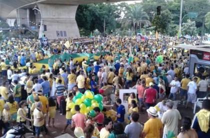 Escolas e diversos órgãos aderiram à greve geral no Piauí