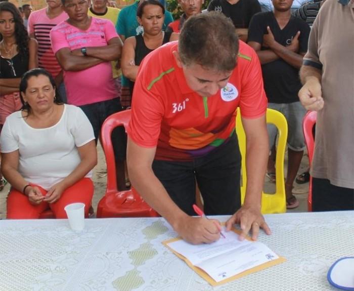 Fundespi autoriza construção de campo de várzea em Barras