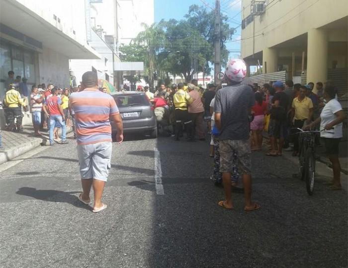 Motorista é baleado no rosto no centro de Teresina
