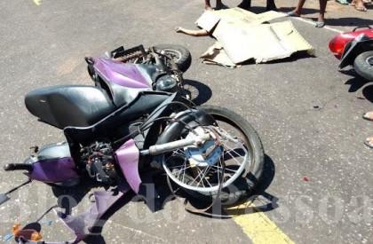 Mulher morre em acidente de moto na PI 116, em Luis Correia