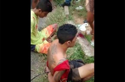 População tenta linchar suspeitos de assalto na zona Norte de Teresina