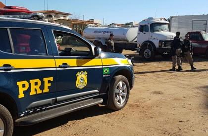 PRF prende sete pessoas na 'Operação Água Limpa'