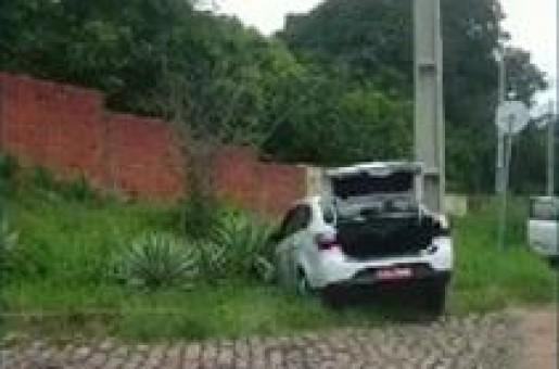 Taxista é atingido de raspão na zona leste de Teresina