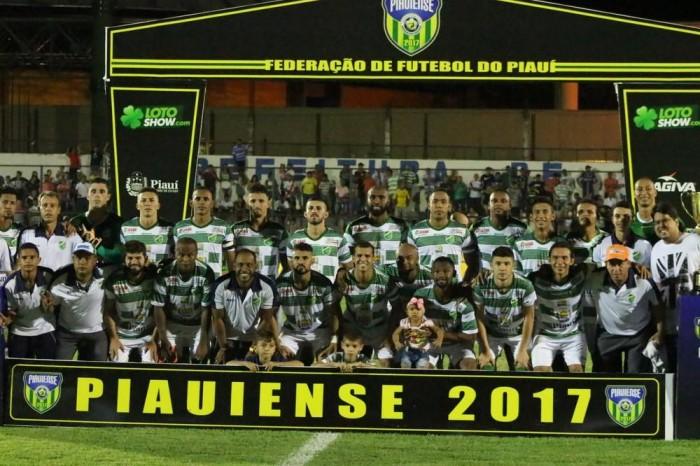 Altos conquista taça do Campeonato Piauiense 2017