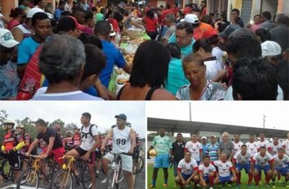 Atividades esportivas movimentam 1° de Maio em Barras