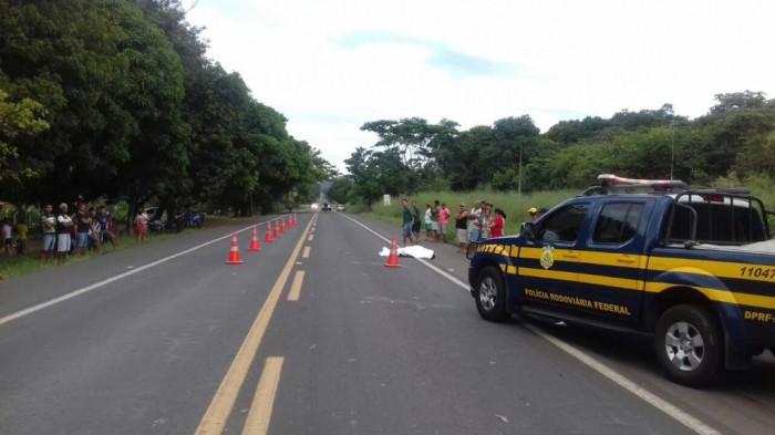 Colisão deixa ciclista morto na BR-343, em Teresina